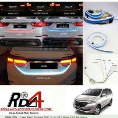 Stop Lamp Led Grand New Veloz Ukuran Wiper Avanza 2016 Jual Aksesoris Mobil Stoplamp Atau Lampu Rem Belakang Bagasi Strip 4 Warna