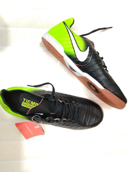 Sepatu Futsal Nike Hitam Hijau