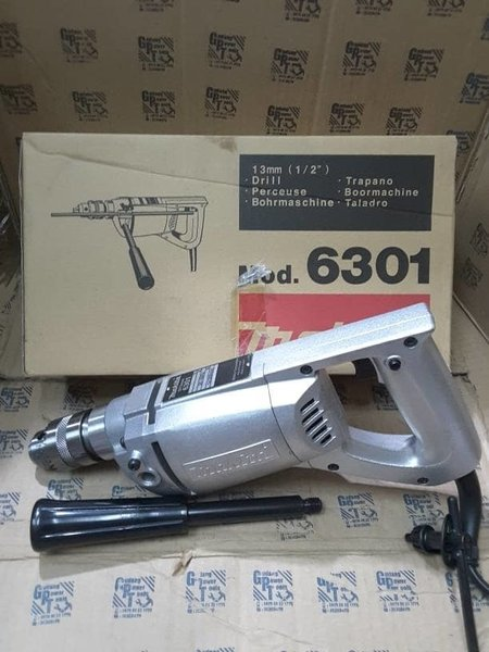 Mesin Bor Besi Bor Tangan 13mm Makita 6301-New MG0422 - Terlaris