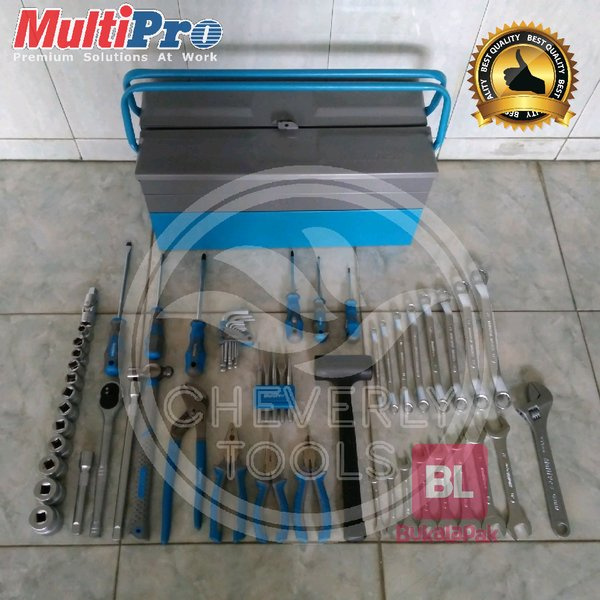 Tool Set Automotive 60 Pcs Multipro Automotive Tool Set Tool Set Lengkap Tool Set Otomotif Kunci Pas Kunci Ring Tang Obeng Tool Box