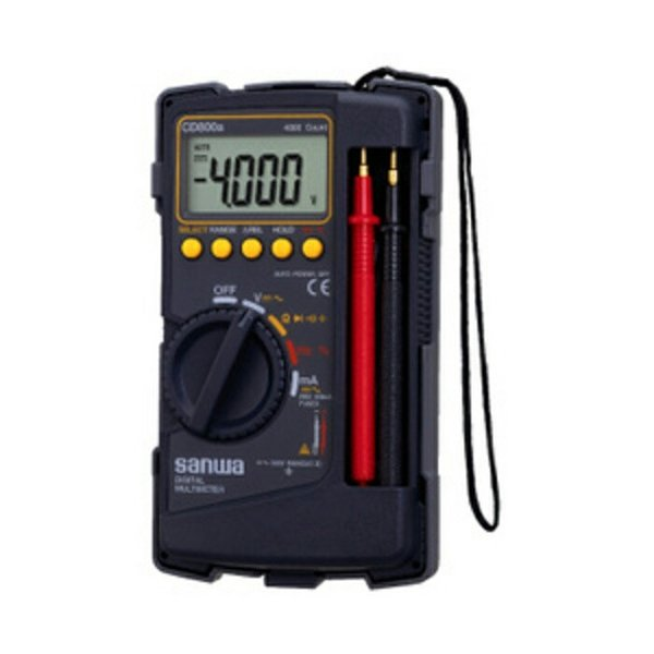 Murah Sanwa CD800a POCKET MULTIMETER MULTITESTER AVOMETER JAPAN Sale