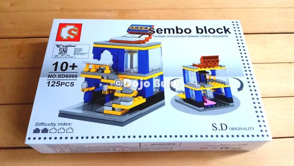 Lego Bangunan Toko Furniture IKEA Sembo Block