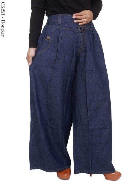 Celana kulot jeans jumbo terbaru CK221