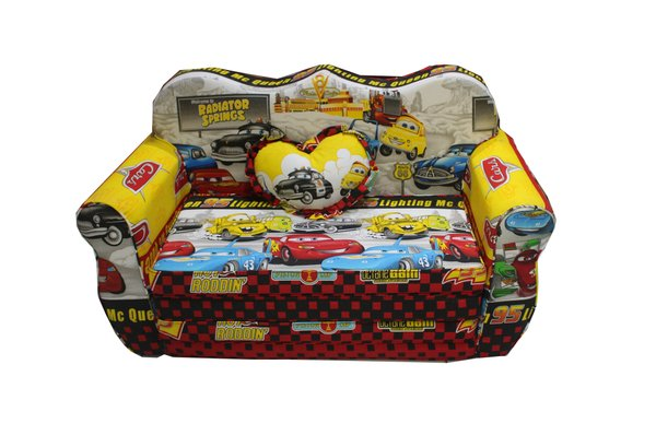 Sandeland Sofa Bed Mini Anak Motif Car