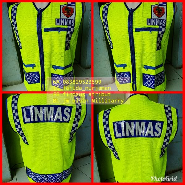 rompi linmas security