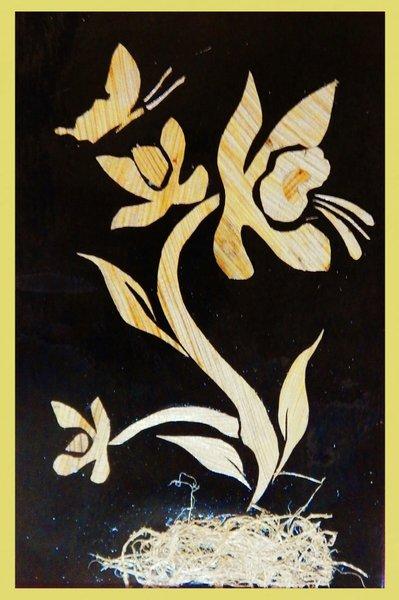 Kerajinan Bunga Dari Pelepah Pisang : kerajinan, bunga, pelepah, pisang, Lukisan, Pelepah, Pisang, TianD'Pelepah, Lapak, Kristian, Pabeta, Bukalapak