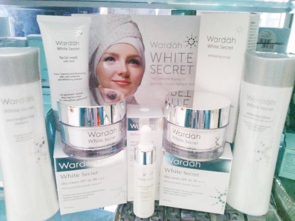 Wardah White Secret Series Paket Lengkap