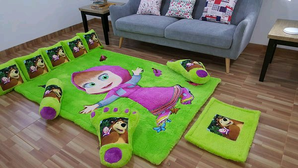 Karpet Karakter Marsha Full Set