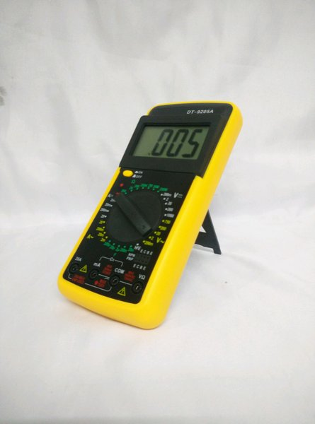 MULTITESTER DIGITAL ANALOG MULTIMETER SPARDIO SP-9205A