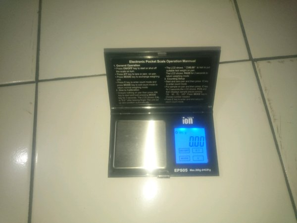 Timbangan emas digital pocket scale touchscreen