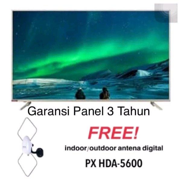 CHANGHONG 55E6000i ANDROID LED SMART TV 55 INCH UHD 4K - PROMO FREE ANTENA