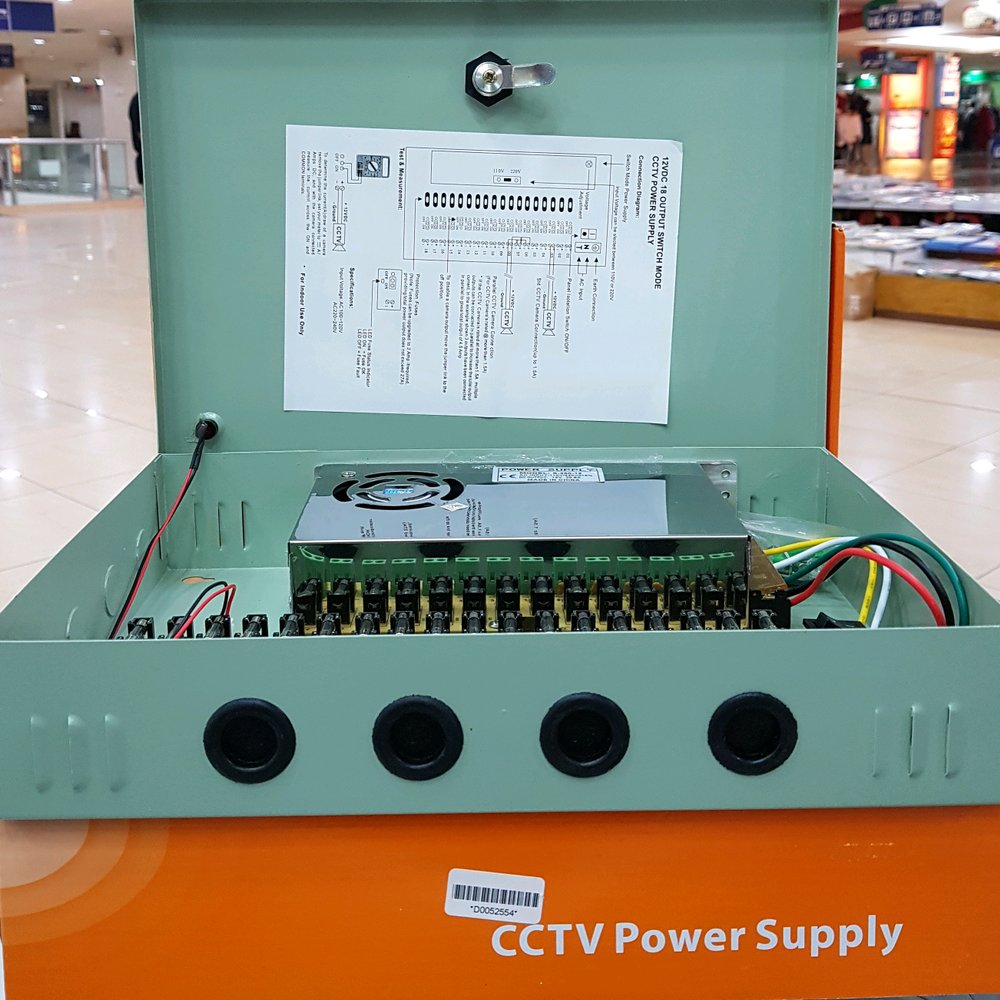 hight resolution of ready bos power supply box 20a 12volt harga murah