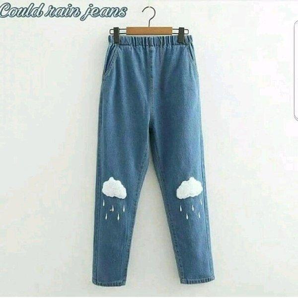 celana jeans kulot HS85009