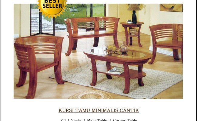Jual Kursi Tamu Minimalis Cantik Best Seller Furniture
