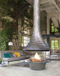 Eva 992 - Central fireplace - JC Bordelet   Decofinder