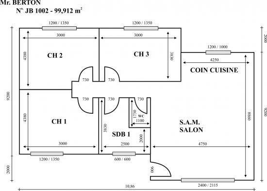 plan de maison pdf. Black Bedroom Furniture Sets. Home Design Ideas