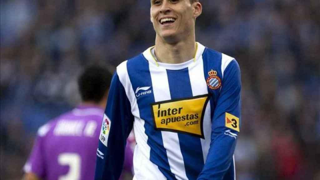 RCD Espanyol y su patrocinador Inter apuestas.