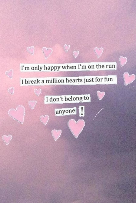 Marina And The Diamonds Quotes Wallpaper Pink Grunge Quotes Quotesgram