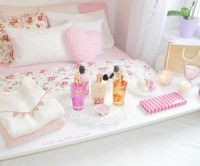 bedroom, girly, pastel, pink, room, room decor, tumblr ...