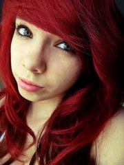 natural red hair eye color