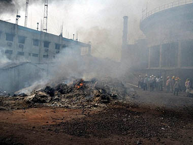 One killed, 15 injured in fire at Odisha steel plant