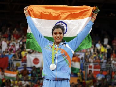 File picture of PV Sindhu. AP