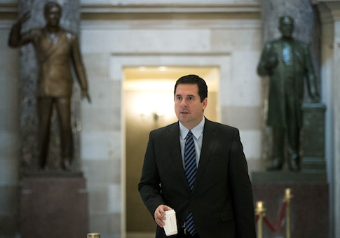 House Intelligence Committee chairman Rep. Devin Nune