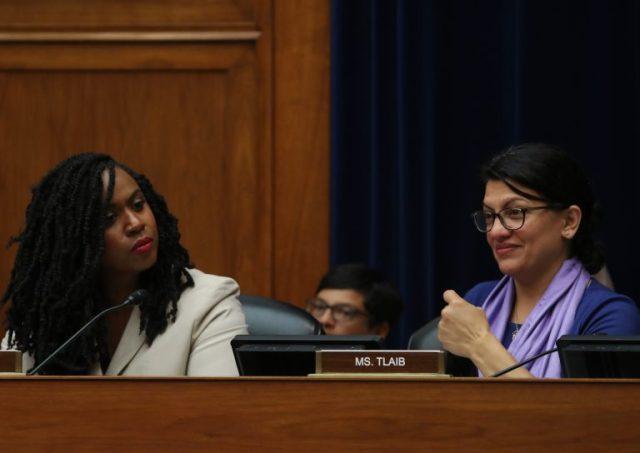 Rep. Ayanna Pressley and Rep. Rashida Tlaib