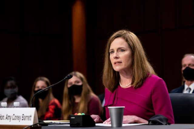 Supreme Court justice nominee Judge Amy Coney Barrett
