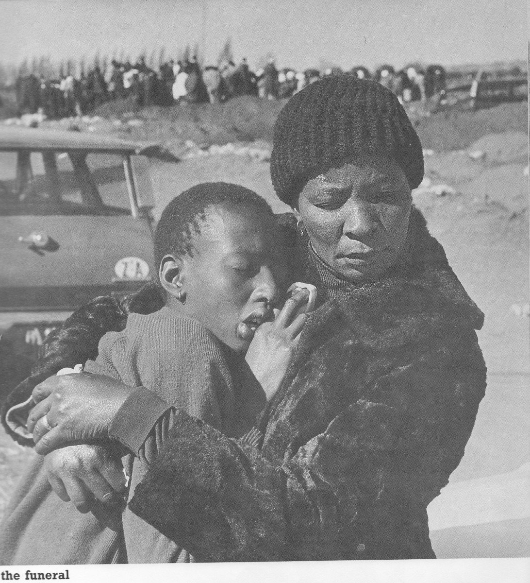 Funerals have become a way of life in South Afirca. It was worse when the Boers were killing  students and workers in 1976; today it more people are being buried due to AIDS, Sugar diabetes, high blood pressure, TV, Alcoholism and malnutrition induce