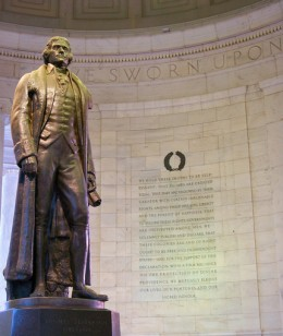 The Jefferson Memorial - A tribute to America's third president.