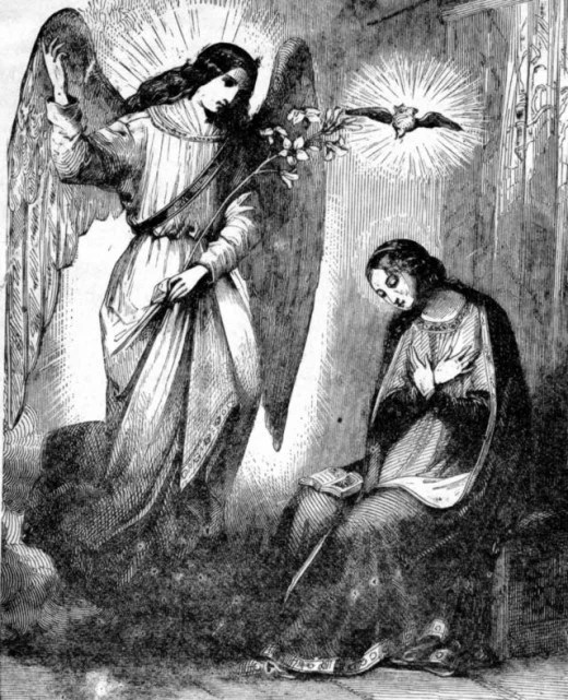 Annunciation of Birth of Christ