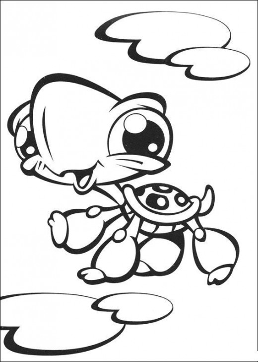 LITTLEST PET SHOP COLORING PAGES « Free Coloring Pages