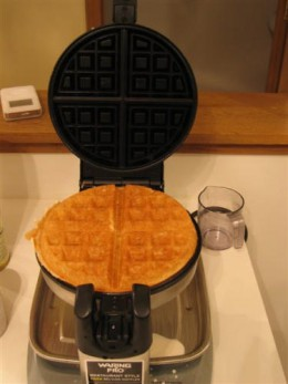 WMK300 produce delicious golden brown waffle every time!