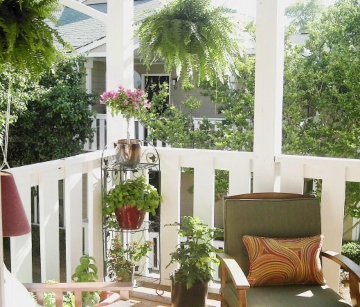 Small Balcony Decorating Ideas