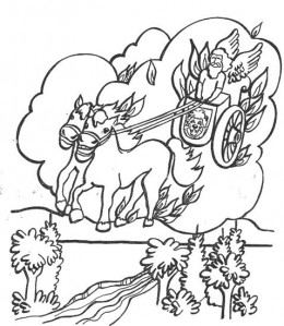 Elijah Coloring Pages For Sunday School Coloring Pages