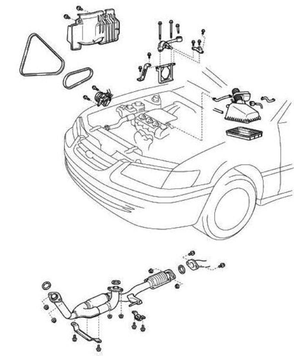 2006 Toyota Camry Water Pump Diagram, 2006, Free Engine