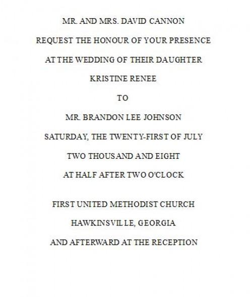 Wedding invitation wording parents hosting paperinvite wedding invitation wording samples bride and groom hosting matik stopboris Gallery