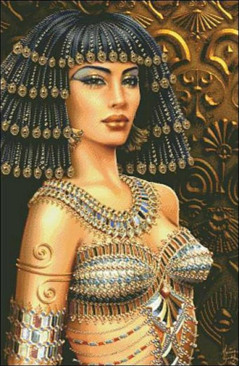 Cleopatra was a famous queen of Egypt known for her love affairs