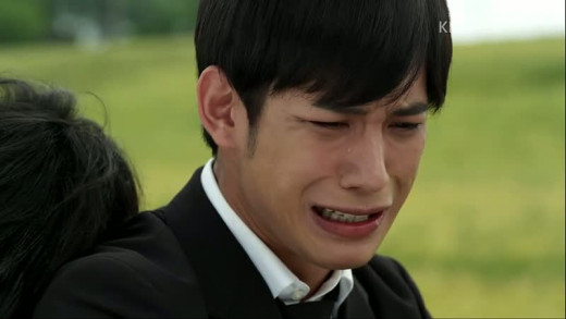 Shunji expressing his grief to Kangto at his brother's death. That was before he became an evil homicidal maniac.