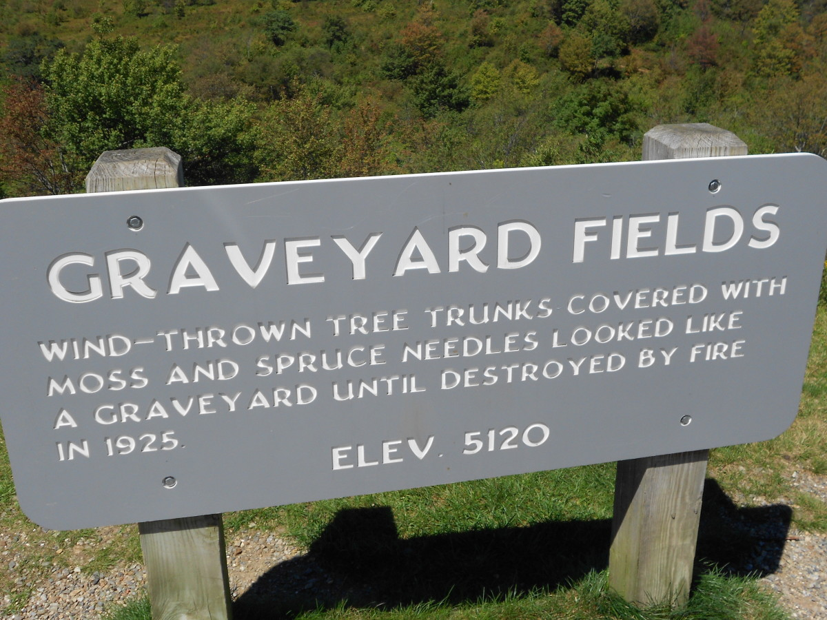 How Graveyard Fields got its name