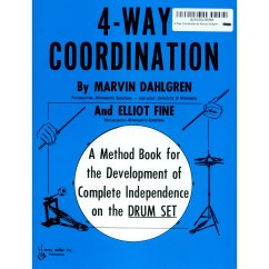 4 Way Coordination Fault Block Diagram Drum Set Method Books Pedal Technique Grooves Lone