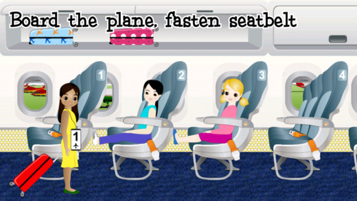 Smart Fish: Frequent Flyer - Teach Kids about Airplane Travel Screenshot