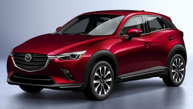 Mazda CX-3 小改款现身纽约车展,外观与内装小幅度修饰 Image #64319