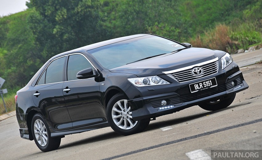 all new camry paultan grand avanza veloz 1.5 a/t 2015 toyota major facelift to debut in york toyo