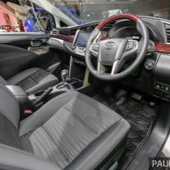 All New Kijang Innova Type Q Speedometer Iims 2016 Toyota  6 Seat Detailed