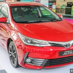 All New Corolla Altis Vs Civic Grand Avanza 2017 Modifikasi Toyota Facelift Now On Sale From Rm121k
