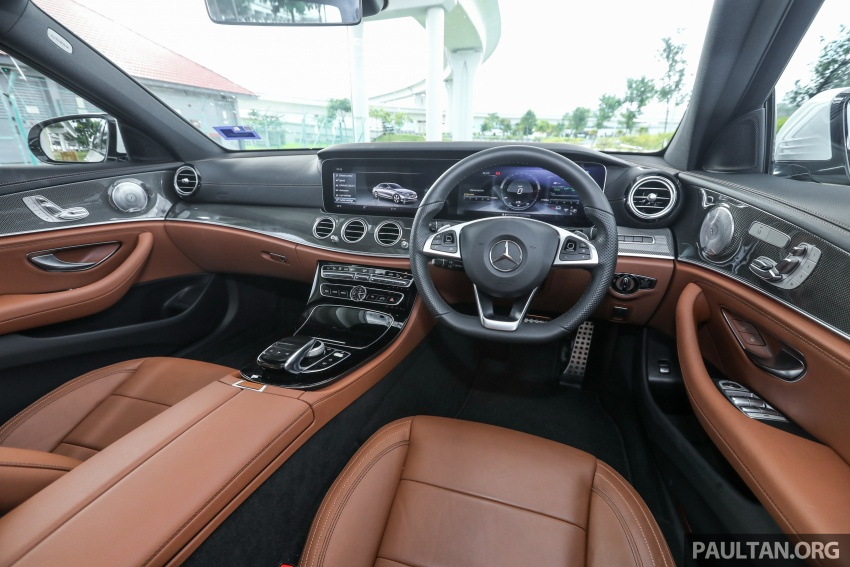 Mercedes Benz E350e Plug In Hybrid Launched In Msia