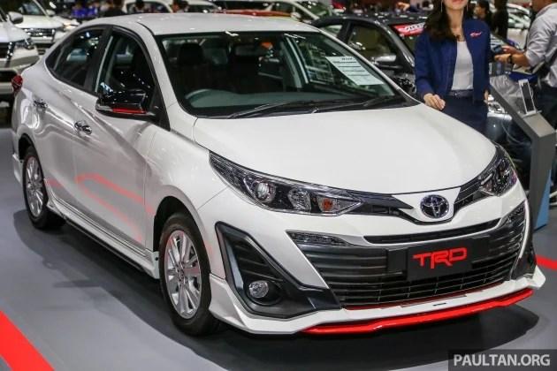 toyota yaris trd sportivo harga grand new veloz 1.5 hitam bangkok 2018: ativ trd, vios kelak