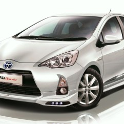 New Toyota Agya Trd Sportivo All Alphard Facelift Prius C Officially Goes On Sale Image